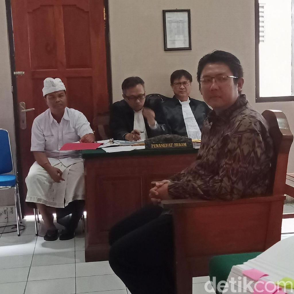 Anak Mangku Pastika Akui Terima Duit Rp 7,5 dari Eks Bos Kadin Bali