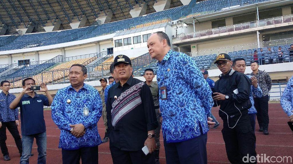 Ini Kata Walkot Bandung soal Stadion GBLA Rusak Terbengkalai