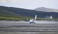 Pesawat yang mendarat di Bandara Barra (iStock)