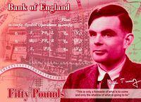 Ilmuwan Komputer Alan Turing Diabadikan dalam Uang Kertas Poundsterling