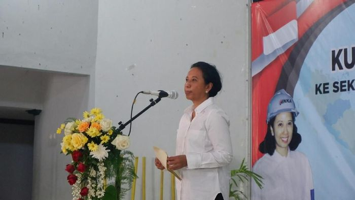 Menteri BUMN Rini Soemarno. Foto: Ardian Fanani/detikcom