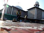 Diperintah Jokowi, Renovasi Masjid Istiqlal Rampung Maret 2020