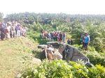 4 Penumpang Bus Tewas dalam Kecelakaan di Batu Bara Sumut