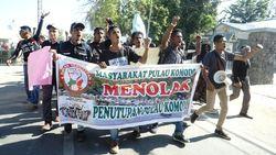Aksi Damai di Labuan Bajo, Tolak Penutupan Pulau Komodo