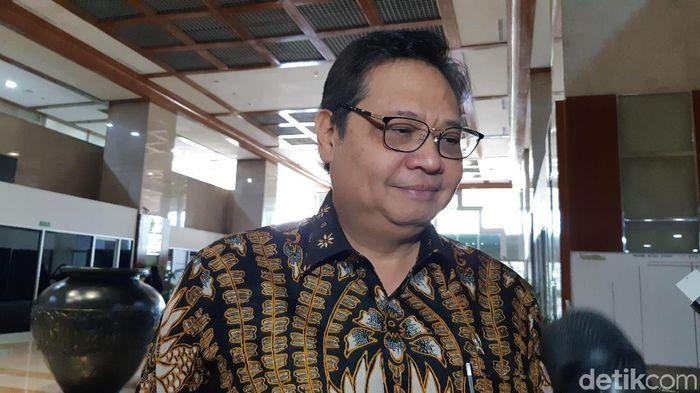 Foto: Airlangga Hartarto (Tsarina Maharani/detikcom)