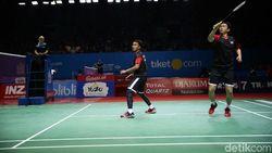 Lewati Laga Sengit, Hendra/Ahsan Melaju ke Semifinal Indonesia Open