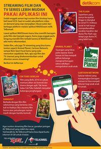Streaming Film dan TV Series Lebih Mudah Pakai Aplikasi Ini