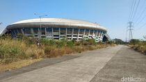 Stadion GBLA Terbengkalai, Toilet hingga Atap Rusak