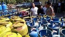 Oplos Elpiji Subsidi ke Ribuan Tabung 12 Kg, Warga Solo Ditangkap