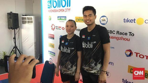 Tontowi/Winny tampil impresif di babak pertama Indonesia Open.