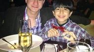 Sebelum Dipenjara, Ini Momen Makan Steve Emmanuel Bersama Anaknya