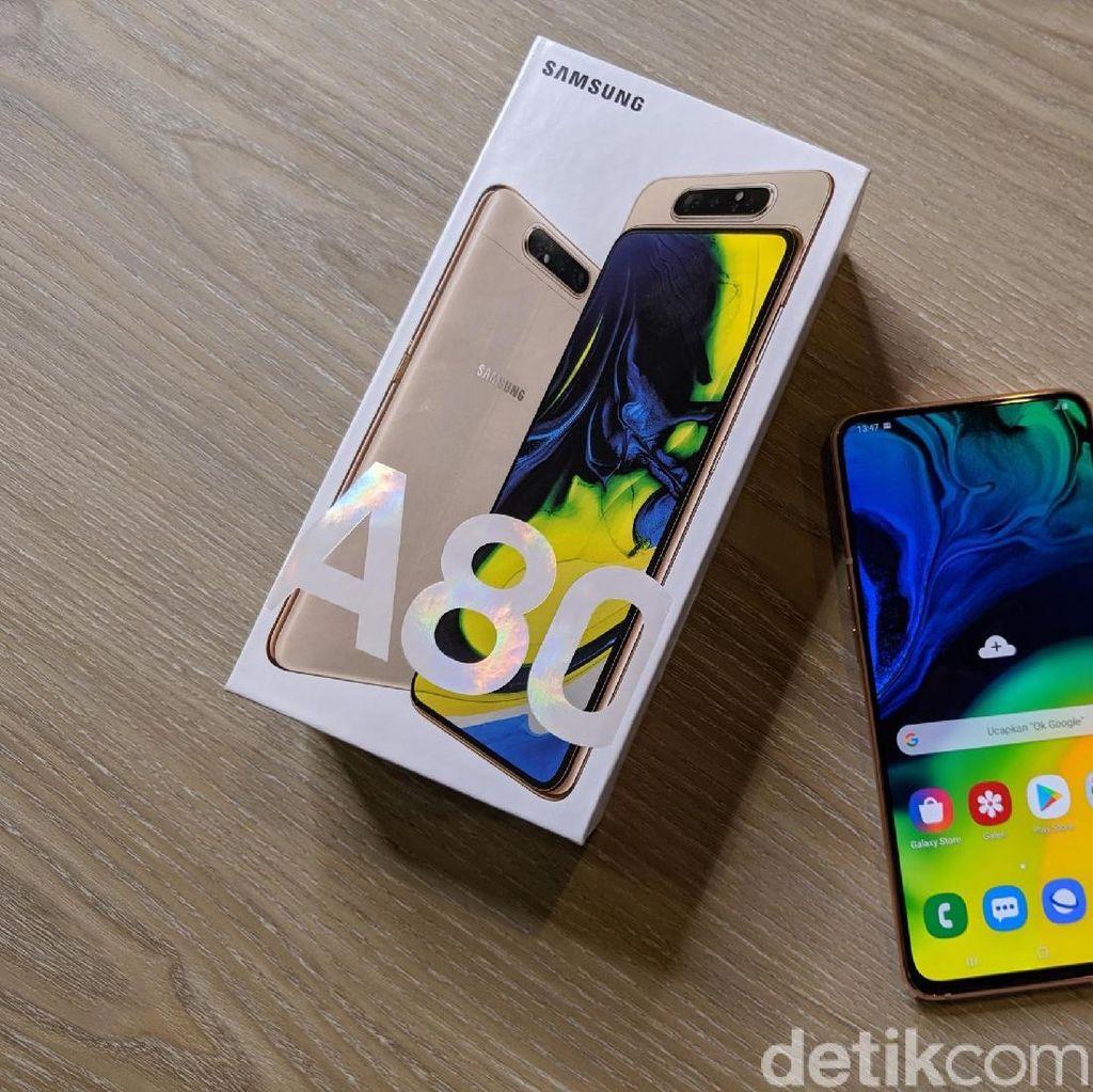 Penampakan Galaxy A80, Ponsel Anyar Samsung Seharga Rp 9,5 Juta