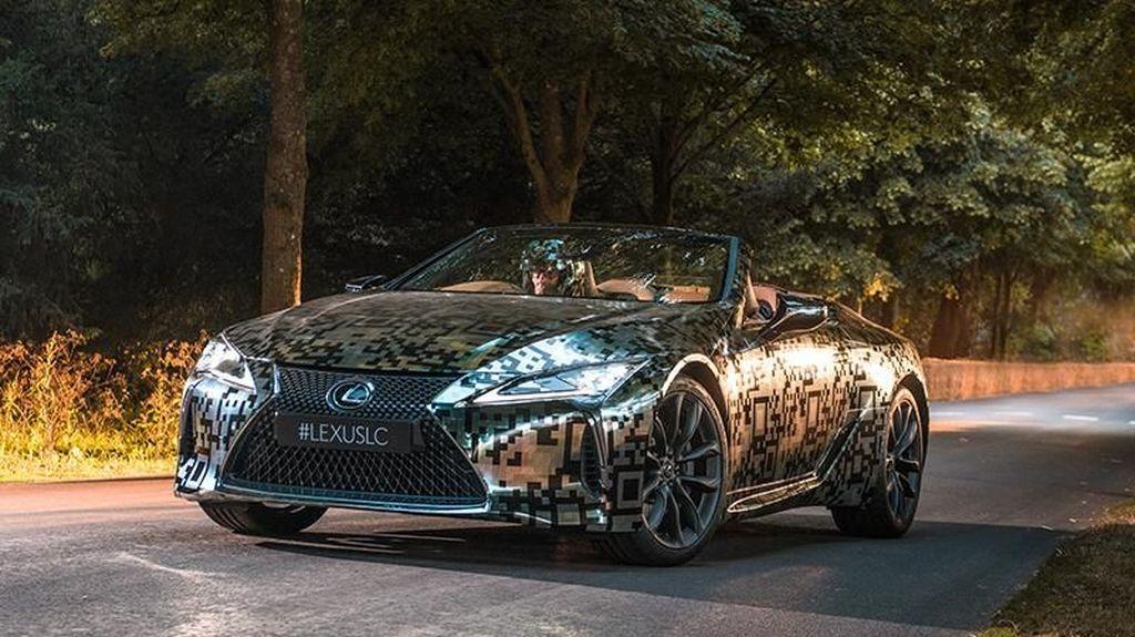 Lexus LC Convertible Siap Mengaspal