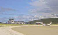 Bandara Barra di Skotlandia (iStock)