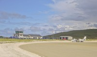 Pantai Traigh Mhor namanya di Kota Castlebay, Pulau Barra. Suatu pulau yang berada di lepas daratan Utama Britania Raya (iStock)