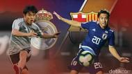 Kubo dan Abe, Duo Jepang di Tengah Rivalitas Real Madrid-Barcelona