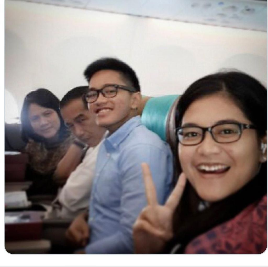 Unggah Foto di Kabin Pesawat, Kaesang Sindir Garuda Indonesia