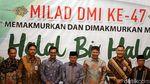 Momen Maruf Amin Dampingi JK Buka Halalbihalal DMI