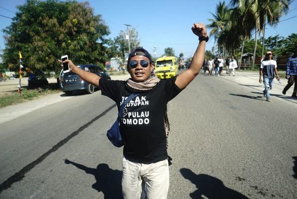 Warga Desa Komodo menolak penutupan Pulau Komodo, karena itu bisa mematikan mata pencaharian mereka yang selama ini bergantung pada pariwisata (dok Istimewa)
