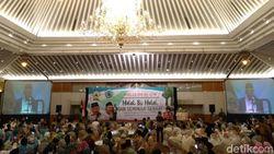 Halalbihalal DMI, Maruf Amin Bicara Dakwah Tanpa Membenci