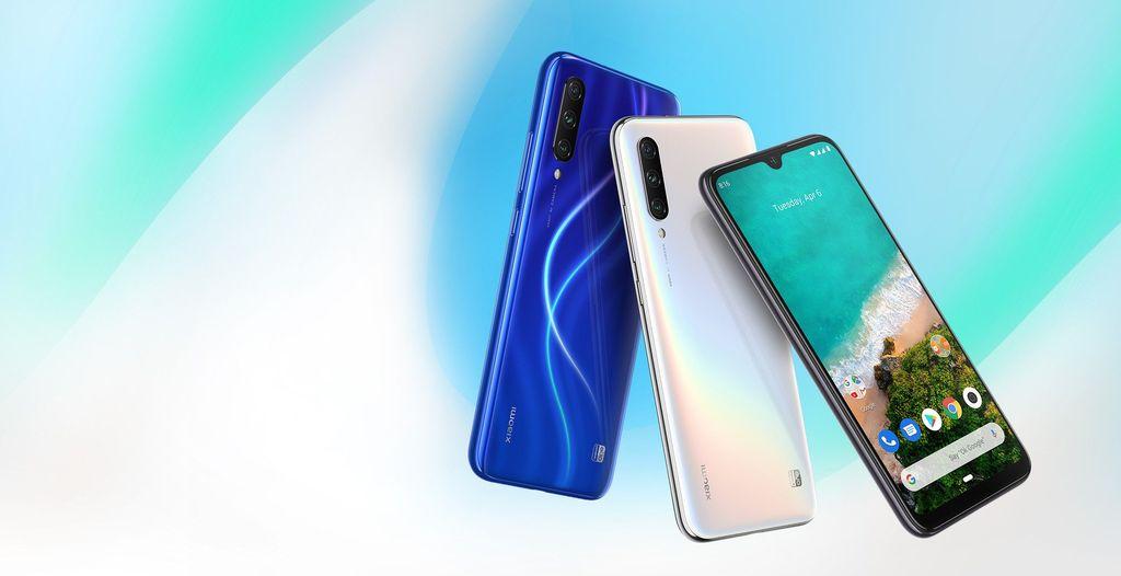 Xiaomi Mi A3 menjadi ponsel Android One teranyar, menjadi suksesordari Mi A1 dan Mi A2. (Foto: Dok. Xiaomi)