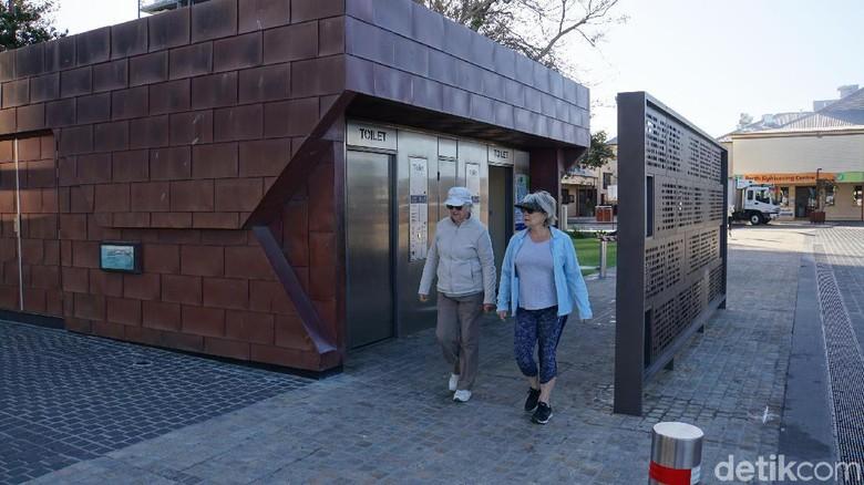Toilet pintar di Australia (Ahmad Masaul Khoiri/detikcom)