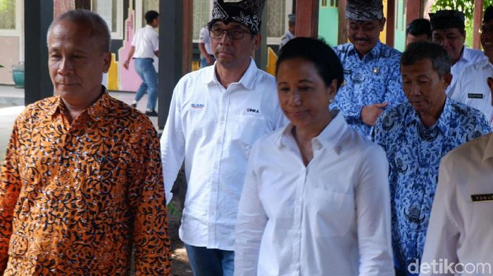 Foto: Menteri BUMN Rini Soemarno (Ardian Fanani)