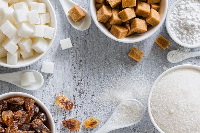 Foto: Berbagai jenis gula (Foto: Shutterstock)