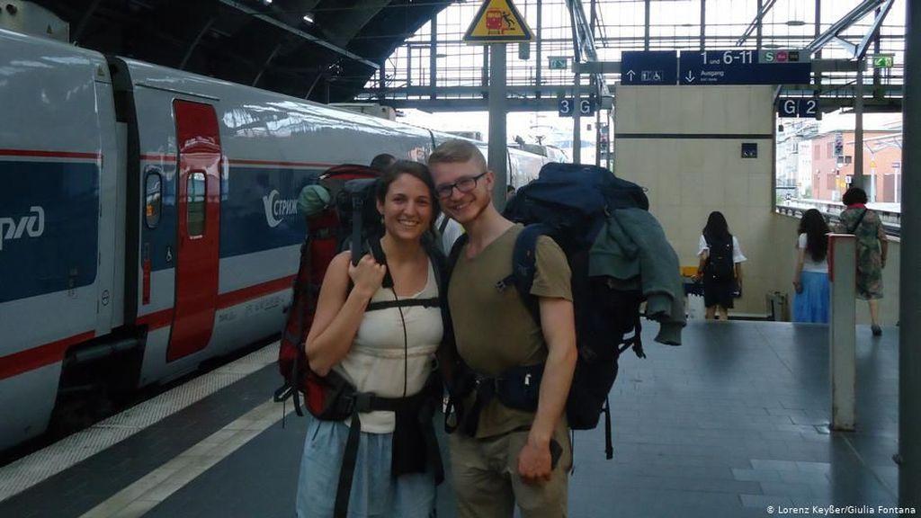 Cinta Lingkungan, Pasangan Ini Pergi dari Eropa ke Australia Tanpa Pesawat