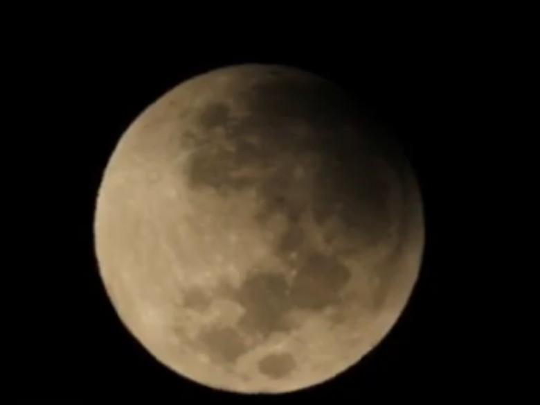Gerhana Bulan 17 Juli Masuk Fase Parsial