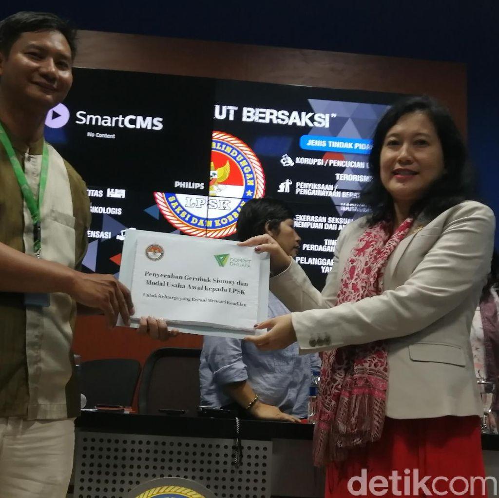 LPSK Beri Bantuan ke Keluarga Korban Perkosaan di Cibinong