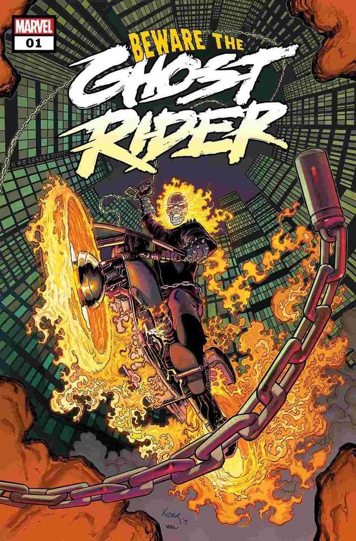Ada Seri Komik Marvel Terbaru Ghost Rider Penasaran