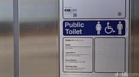 Semua aktivitas pengguna dari luar toilet sudah dikalkulasikan dan diprediksi. Oleh karenanya, kamu yang menggunakan tinggal memencet atau meraba tombol-tombol yang berfungsi masing-masing (Ahmad Masaul Khoiri/detikcom)