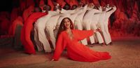 Beyonce dalam video klip 'Spirit'.