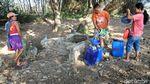 Melihat Perjuangan Warga Cari Air Bersih di Grobogan Jateng