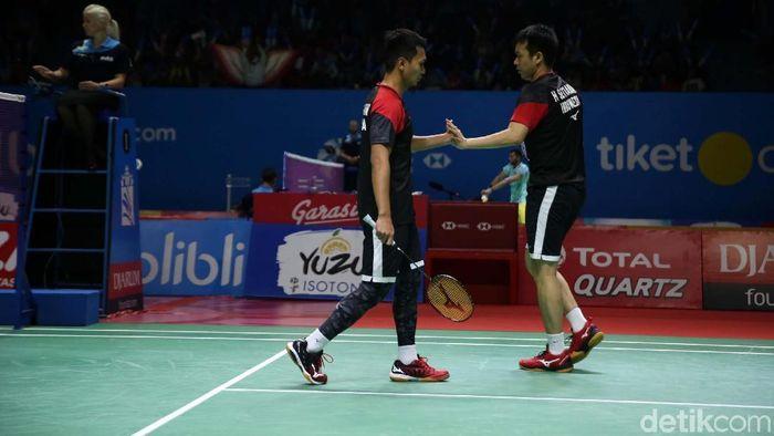 Indonesia meloloskan 13 wakil ke babak kedua Indonesia Open 2019 (Foto: Agung Pambudhy)