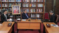 Bertemu SBY di Cikeas, Menlu Singapura Kenang Bu Ani Sosok Inspiratif