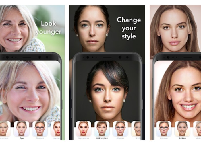 Cara Download FaceApp Pro untuk Hilangkan Watermark di Foto Foto: Screenshot Play Store