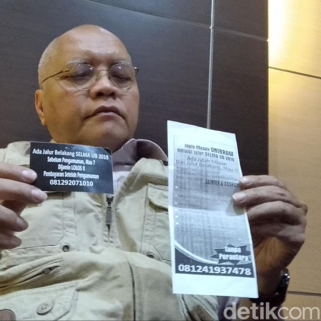 UB Minta Polisi Bongkar Sindikat Penyebar Stiker Jalur Belakang