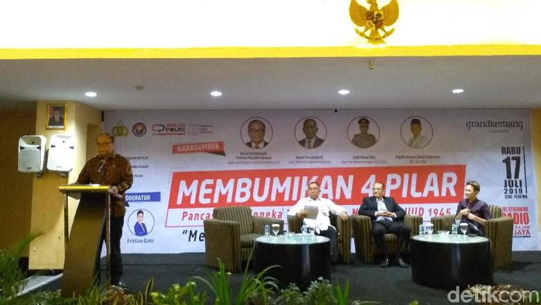 Wantimpres Jokowi Bicara Pancasila dan Kekhawatiran soal Isu SARA