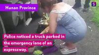Nekat Masak di Jalan Tol, Pasangan Asal China Ini Didenda Polisi