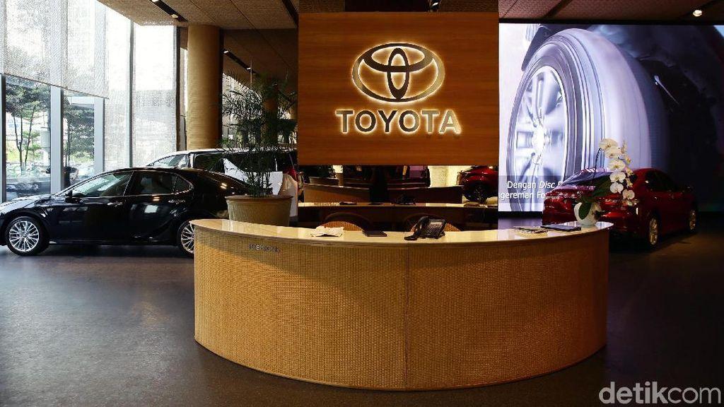 Keren! Ini Showroom Termewah Toyota di Indonesia