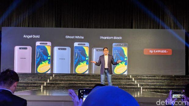 Ini Harga Samsung Galaxy A80 yang Sudah Tiba di Indonesia