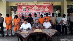 10 Penambang Pasir Ilegal di Sungai Progo Diamankan Polisi