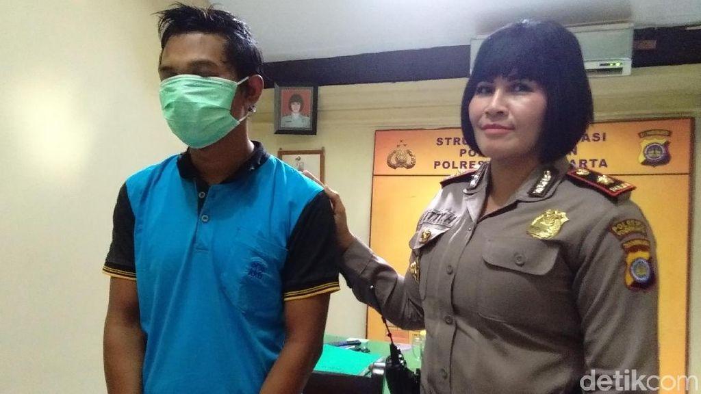 Penjual Cilok Pelaku Remas Payudara Mahasiswi di Yogyakarta