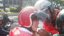 Naik Ojol, Grace Natalie Cs Temui Jokowi di Istana