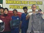 Pelempar Molotov ke Kantor Polisi dan Rumdin Ketua DPRD Magelang Ditangkap