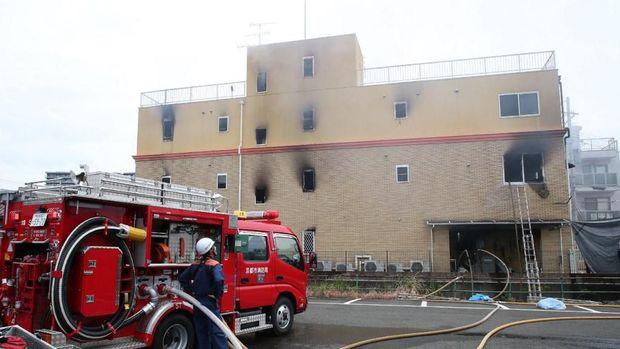 Studio animasi di Kyoto, Jepang dibakar orang