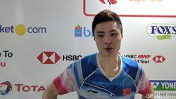 Dukungan Fans di Istora Jadi Suntikan Kekuatan bagi Shi Yuqi