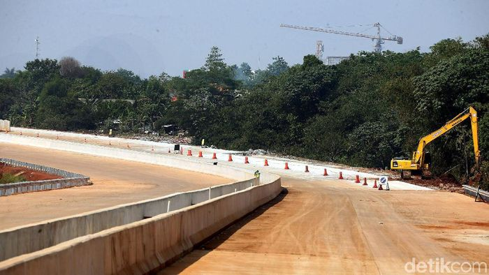 Ilustrasi Jalan Tol Foto: Rengga Sancaya
